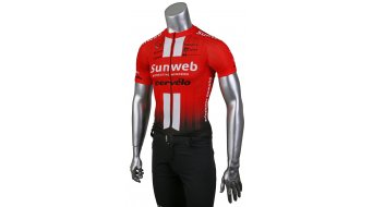 Craft Team Sunweb Replica jersey short sleeve kids sunweb red