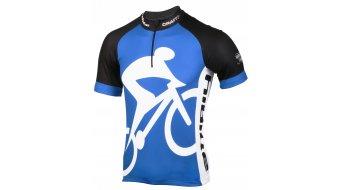 Craft HIBIKE Hauptsache Fahrrad. maglietta manica corta uomini- maglietta mis. S blu