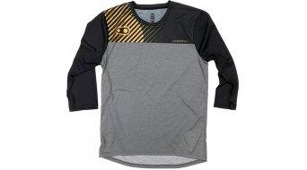 CrankBrothers X 100% Airmatic MTB- maglietta maniche 3/4 LTD. Edition . nero/oro/grigio