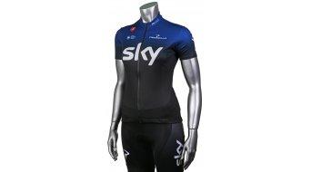 Castelli Team Sky Fan Trikot kurzarm Damen ocean