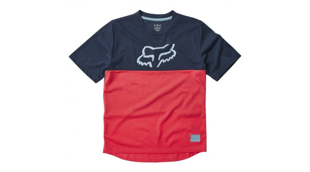 Fox Ranger DR MTB(山地)-领骑服 短袖 儿童 型号 S red