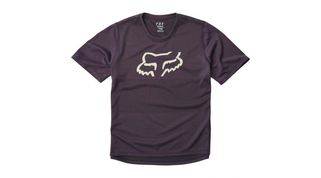 Fox Ranger MTB(山地)-领骑服 短袖 儿童 型号 M dark purple