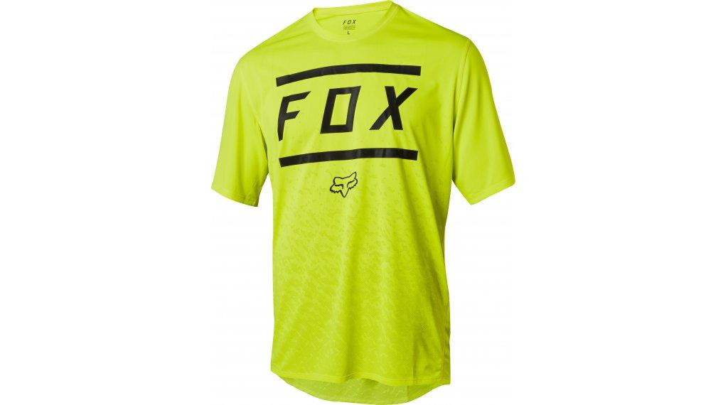 FOX Ranger Bars MTB-mez rövid ujjú férfi Méret S yellow black 40909769e7