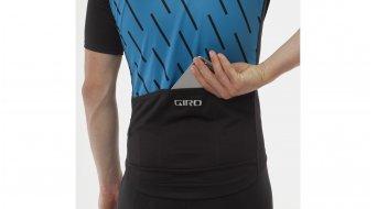 Giro Chrono Sport FZ Trikot kurzarm Herren-Trikot Full-Zip Gr.S blue jewel echelon Mod. 2017