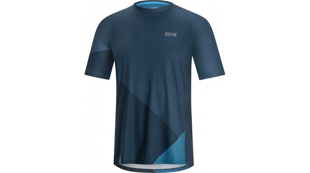 GORE C5 Trail 领骑服 短袖 男士 型号 XL deep water blue/Dynamic cyan