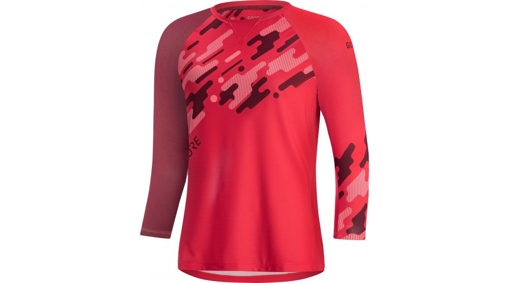 GORE Wear C5 Trail maillot 3/4 brazos Señoras tamaño XXS (34) hibiscus rosa/chestnut rojo
