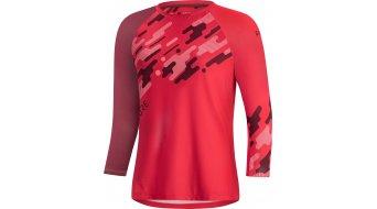 Gore Wear C5 Trail jersey 3/4- Arm ladies hibiscus pink/chestnut red