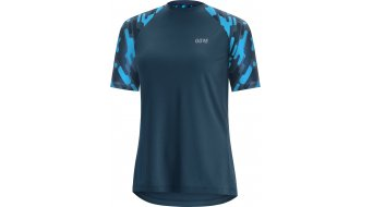 GORE C5 Trail 领骑服 短袖 女士 型号 deep water blue/Dynamic cyan