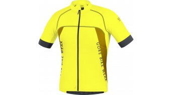 Gore bike Wear Alp-X Pro jersey short sleeve men- jersey MTB size XL cadmium yellow/golden oak