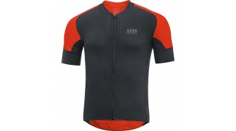 GORE Bike Wear Oxygen CC jersey short sleeve men- jersey road bike black/orange.com