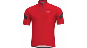 GORE Bike Wear Power 3.0 jersey short sleeve men- jersey road bike size XL red/black