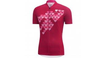 GORE Bike Wear E Digi Heart Trikot kurzarm Damen-Trikot Lady Gr. 40 jazzy pink