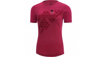 GORE Bike Wear Element Digi Heart jersey short sleeve ladies- jersey Lady shirt
