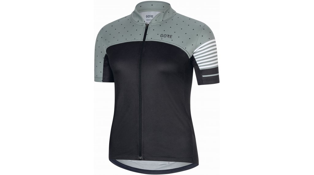 Gore C5 tricot kort dames maat.36 black/nordic blue