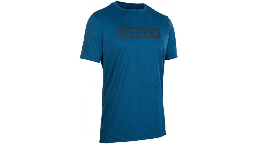 ION Scrub maillot de manga corta Caballeros tamaño XXS (44) ocean azul