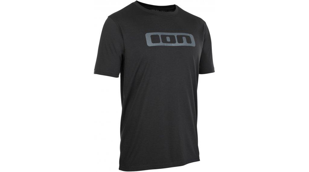 ION Seek DR maillot de manga corta Caballeros tamaño XXS (44) negro