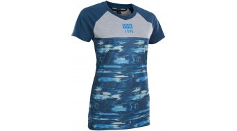 ION Scrub AMP Disortion jersey short sleeve ladies ocean blue