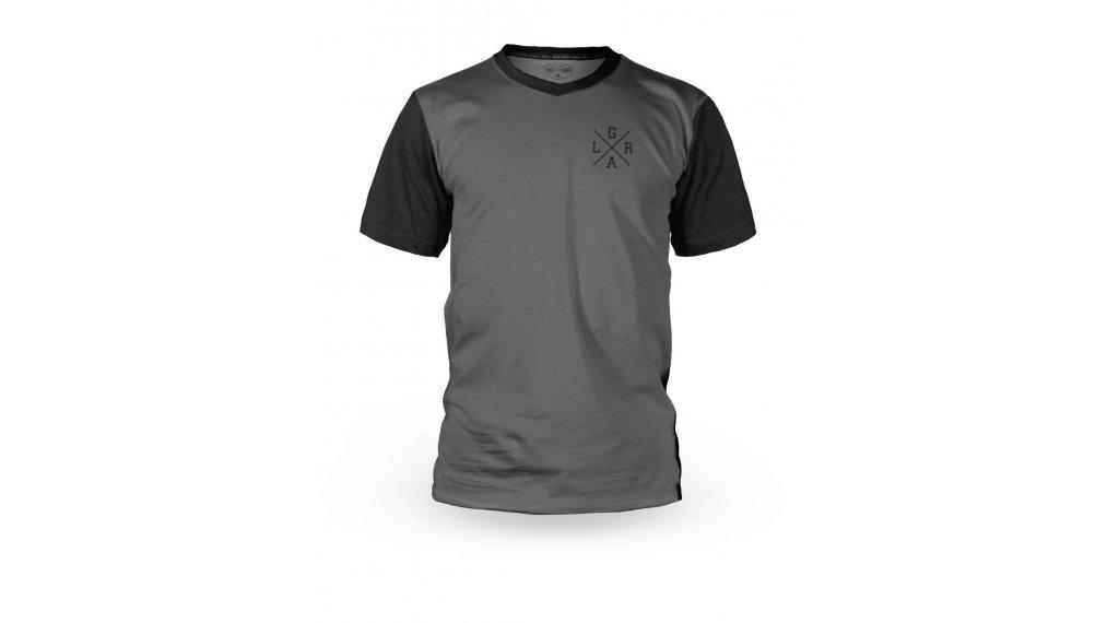 Loose Riders Basic maglietta manica corta da uomo mis. XS grigio