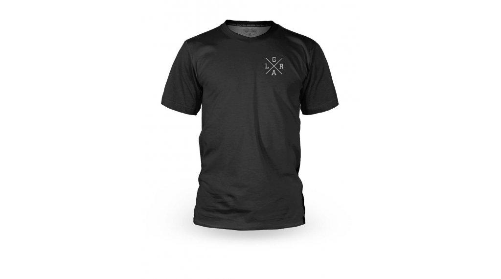Loose Riders Basic maglietta manica corta da uomo mis. XS nero