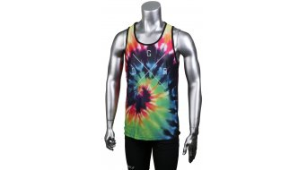 Loose Riders bagno Trip Tank-Top senza maniche unisex . black/multicolor