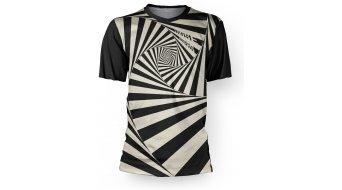 Loose Riders Vertigo Black jersey short sleeve unisex black/white
