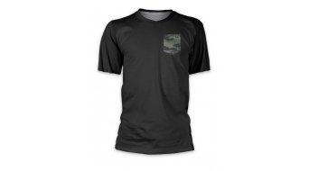 Loose Riders Camo Pocket S maillot de manga corta negro/verde