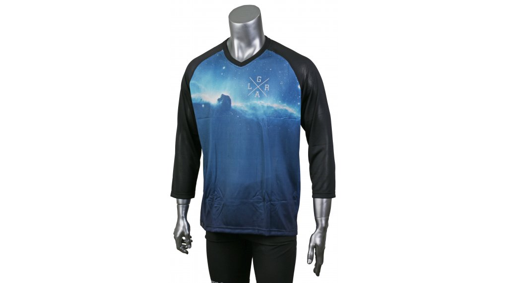 Loose Riders Cult of Shred Nebula Cool Trikot kurzarm Gr. XS blue/black