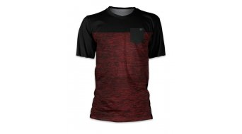 Loose Riders 2 Tone Burgundy S Triktot manches courtes taille red/black