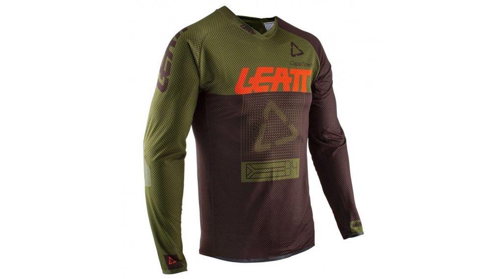 Leatt DBX 4.0 Ultraweld 领骑服 男士 长袖 型号 M forest