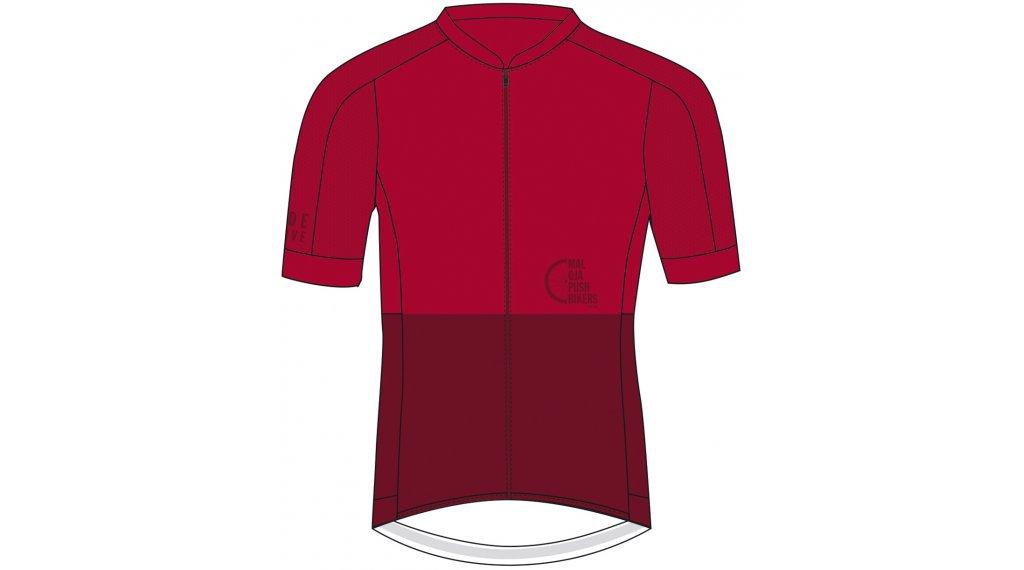 Maloja PushbikersM. Race 1/2 maillot de manga corta Caballeros tamaño L rojo monk