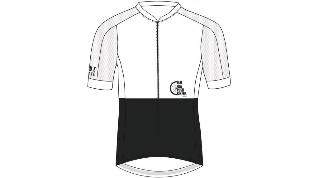 Maloja PushbikersM. Race 1/2 maillot de manga corta Caballeros tamaño S moonless
