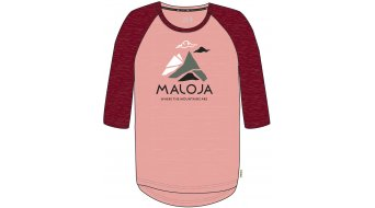 Maloja ValspregnaG. jersey short sleeve kids size M red monk- MUSTERcollection