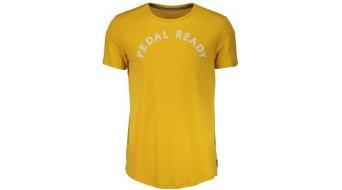 Maloja SurbergM. tricot korte mouw heren-tricot Multisport Jersey maat. M mustard- Sample