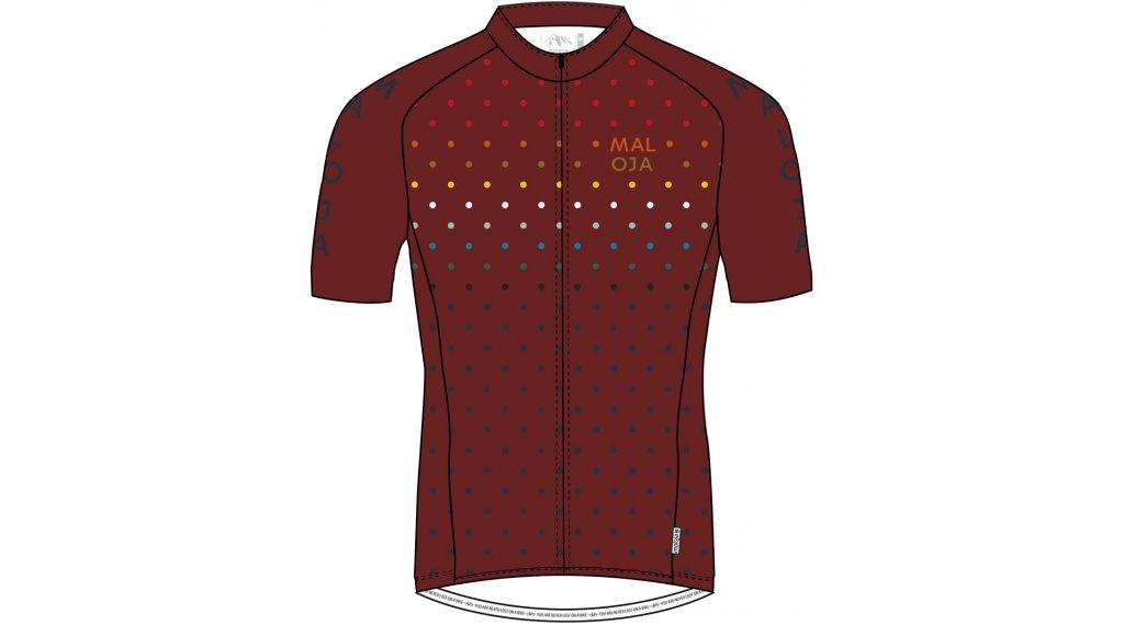 Maloja Champsm 1 2 Jersey Short Sleeve Men Size Xl Maroon