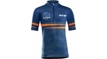 Northwave Origin Trikot kurzarm Kinder Gr. 10 blue/orange