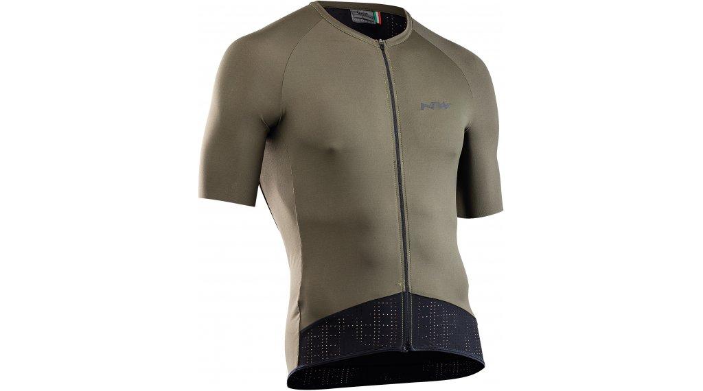 Northwave Essence maillot de manga corta Caballeros tamaño S forest verde