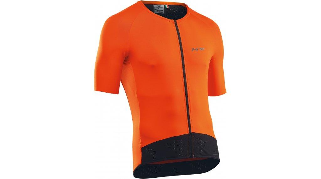 Northwave Essence maillot de manga corta Caballeros tamaño S naranja