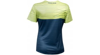 Pearl Izumi Launch jersey short sleeve ladies size L sunny lime/dark denim frequency
