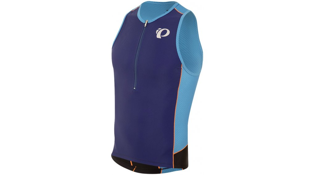 Pearl Izumi Elite Pursuit Triathlon-Trikot ärmellos Herren Tri Singlet Gr. S bel air blue/blue depths