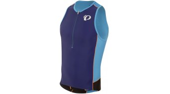 Pearl Izumi Elite Pursuit Triathlon- jersey no sleeve men Tri singlet bel air blue/blue depths
