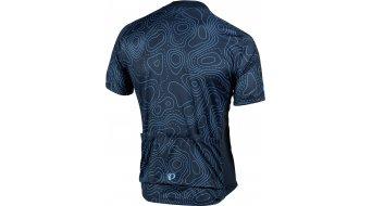 Pearl Izumi Select Escape LTD road bike- jersey short sleeve men size S topo lines atomic blue/midnight navy