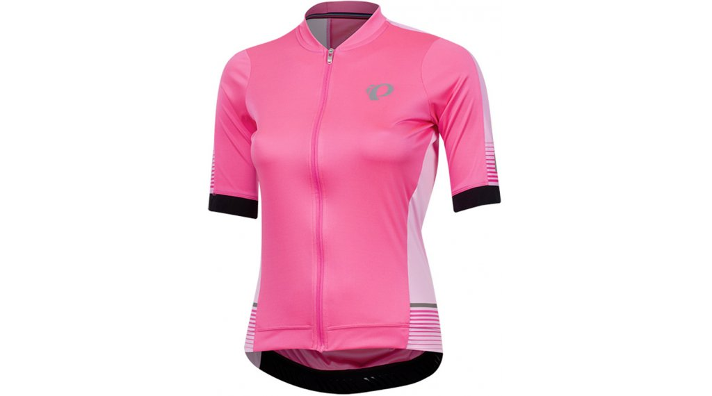 Pearl Izumi Elite Pursuit SPD road bike- jersey short sleeve ladies size S screaming pink diffuse