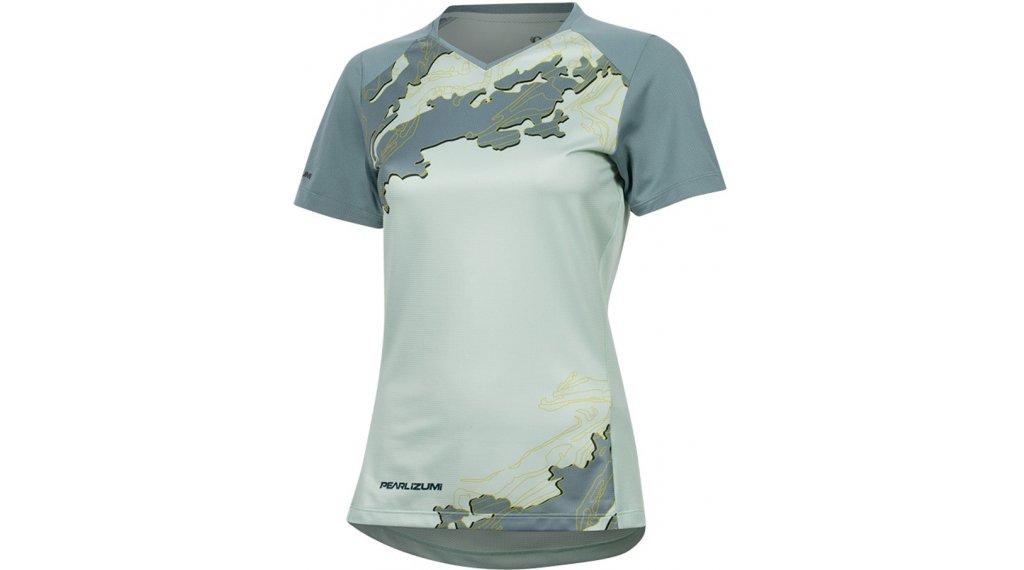 Pearl Izumi Launch MTB- jersey short sleeve ladies size M mist green/arctic Composite