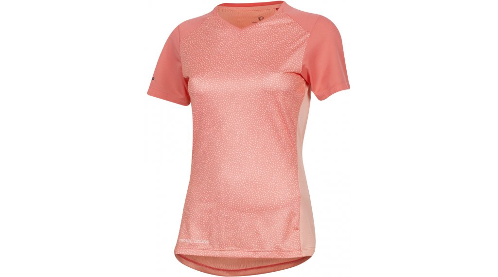 Pearl Izumi Launch jersey short sleeve ladies size M sugar coral/peach kimono