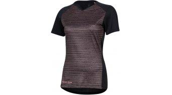 Pearl Izumi Launch jersey short sleeve ladies size S black/sugar coral vert