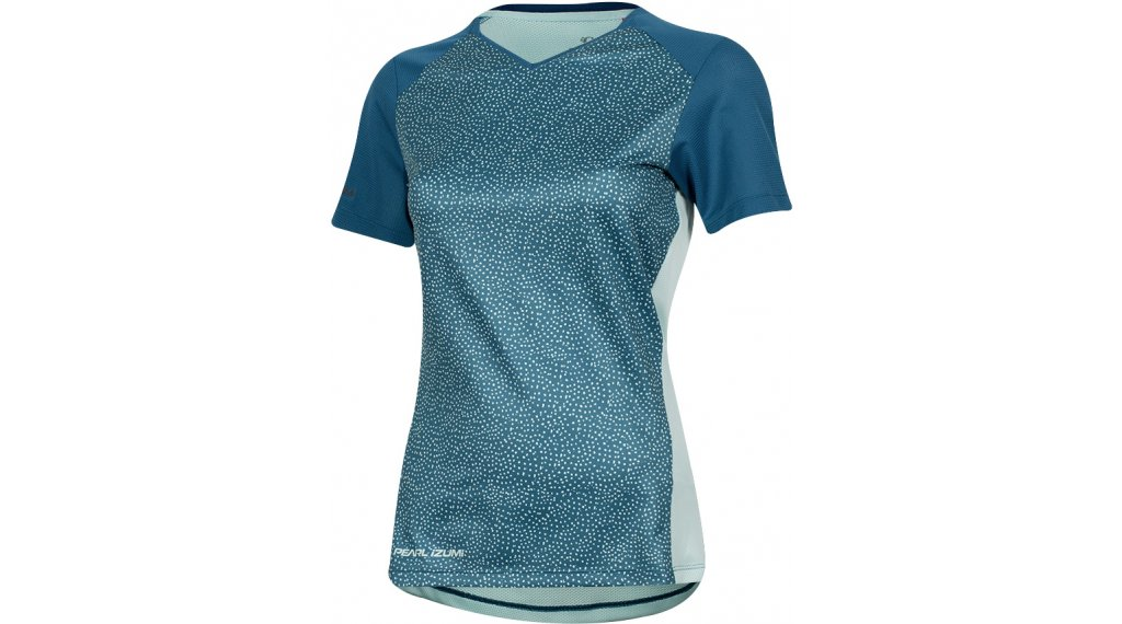 Pearl Izumi Launch bike- jersey short sleeve ladies size S teal/glacier kimono