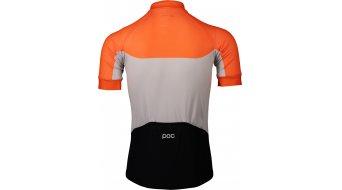POC Essential Road Light Rennrad-Trikot kurzarm Herren Gr. S granite grey/zink orange