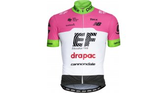 POC EF Education First Replica Team Rennrad-Trikot kurzarm Herren fluorescent pink