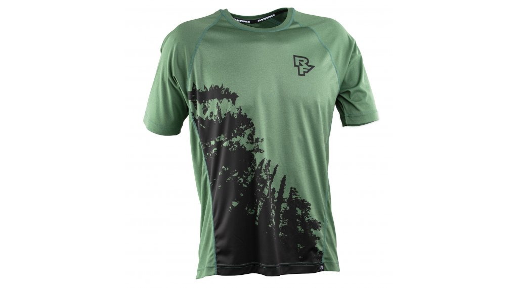 Race Face Trigger VTT-maillot manches courtes hommes taille XL forest
