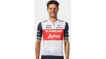 Santini Trek-Segafredo Team tricot korte mouw . white/dark blue